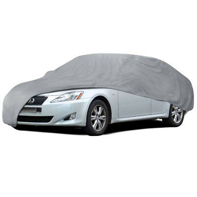 XXL Car Cover Waterproof All Weather Protection 4 Layers Breathable Auto Cover