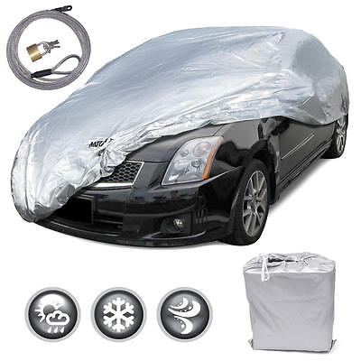 New Full Car Cover Deluxe All Weather UV Waterproof fits 1992 - 2005 Honda Civic