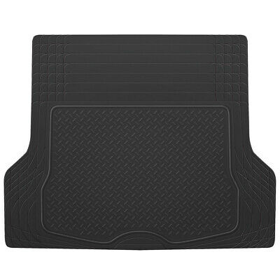 Trunk Cargo Floor Mats for Car SUV Truck Auto All Weather Black Heavy Duty