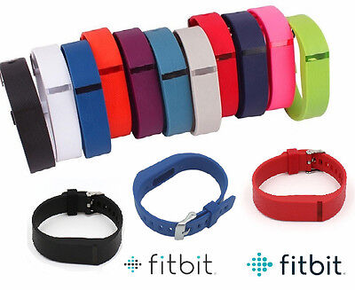 Replacement FitBit Flex Fitness Tracker Wristband Metal Watch Buckle Accessory