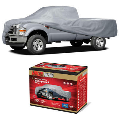 3 Layer Premium Truck Cover Outdoor Tough Waterproof Lining Pickups Size XL3