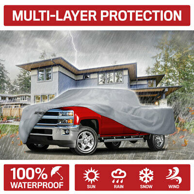 3 Layer Premium Truck Cover Outdoor Tough Waterproof Lining Pickups Standard Cab