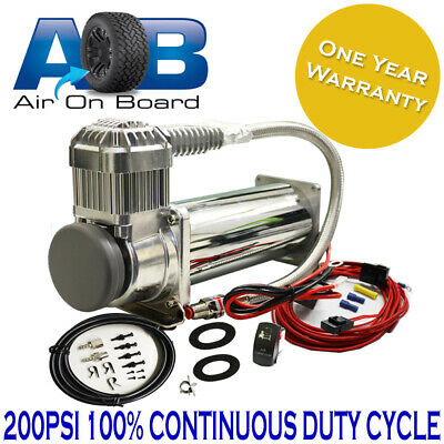 400 Air compressor 12 V AOB 4x4 Car Tyre 4wd Deflator Inflator Electric 4wd new