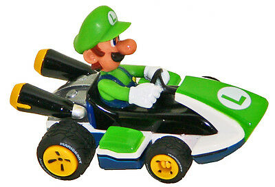 Carrera 64034 GO! Mario Kart 8 Luigi, 1/43 scale slot car
