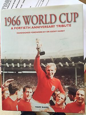 1966 WORLD CUP 40th Tribute signed by 9 of the winning England team £99