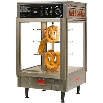 "Benchmark 51012 Pizza/Pretzel Warmer 12"" Holding Capacity Countertop Glass Door"