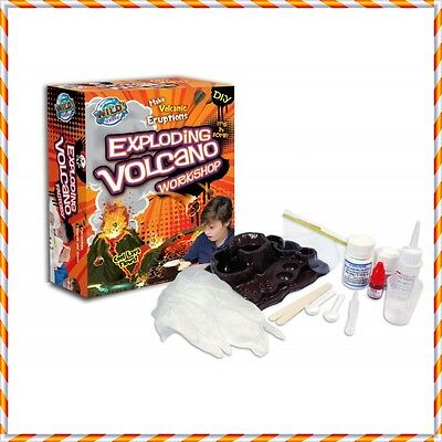 Wild Science Exploding Volcano Workshop DIY School Project Age 10+