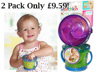 Munchkin Snack Catcher-Baby Food Container, Easy Access, No Spills! Fab!