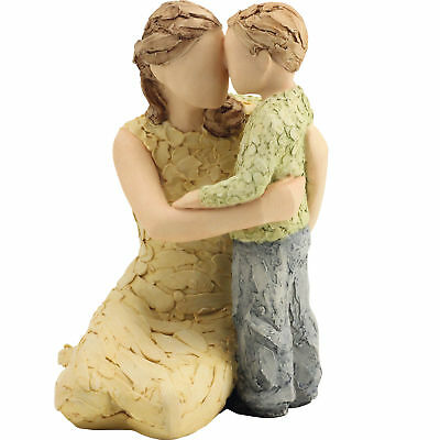 More Than Words My Boy Figurine Mother & Son