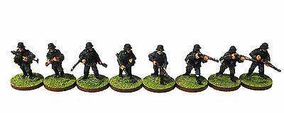 German infantry painted (WWII) - 28mm