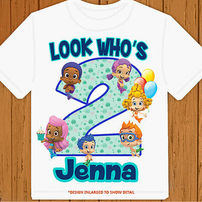 Bubble Guppies - Personalized - Birthday T-Shirt Party Favor