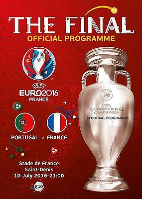 EURO 2016 FINAL - FRANCE v PORTUGAL (10th July 2016) ENGLISH LANGUAGE PROGRAMME