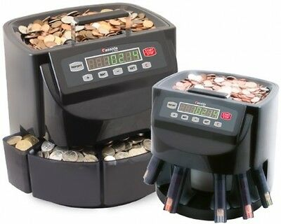 Commercial Money Coin Counter and Sorter Machine Electronic Wrapper Automatic