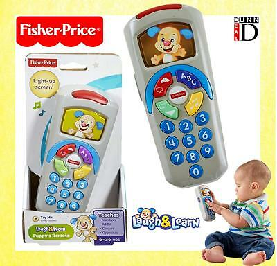 Fisher-Price Baby First 1st TV  Puppy's Toy Remote Control Musical Light Up Toy