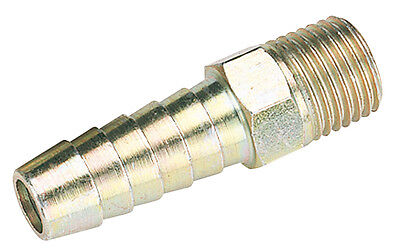 """Draper 1/4"""" Taper 3/8"""" Bore PCL Male Screw Tailpieces Pack of 5 - 25843 