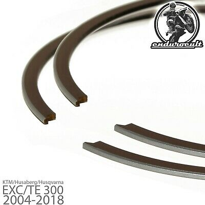 2x Piston Rings for KTM/Husaberg/Husqvarna EXC/TE/XC/XC-W 300 2004-2018