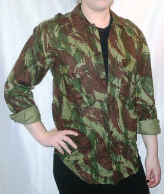 Vintage Camo - Portuguese Camouflage Shirt - Angolan Pattern Camo