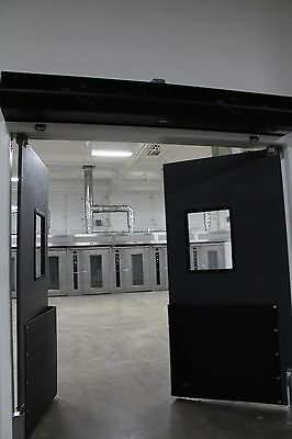 "Warehouse Traffic Doors -  Impact Swinging Doors 60"" X 84"" (Double Panel)"