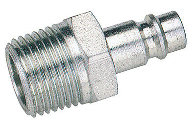 "Draper 1/2"" BSP Male Nut PCL Euro Coupling Adaptor (Sold Loose) - 54417"