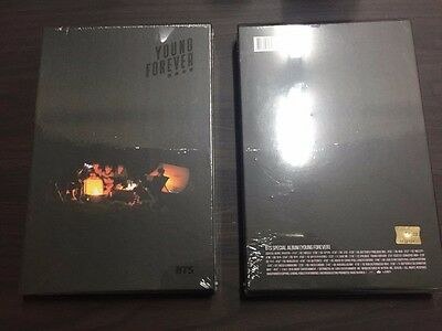 BTS- YOUNG FOREVER Special Album 2CD+POSTER+ Photo Book+photocard [NIGHT VER.]