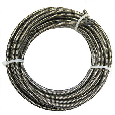 100 Ft Drain Auger Cable Replacement Cleaner Snake Clog Pipe Sewer Cleaner new