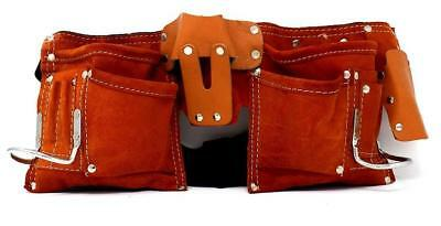 New 11 Pocket Pouch Tool Belt Bag Electrician Carpenter Contractor Construction