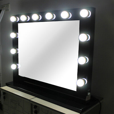 Hollywood Makeup Mirror with lights Vanity Beauty Dressing Room Theatre Mirror