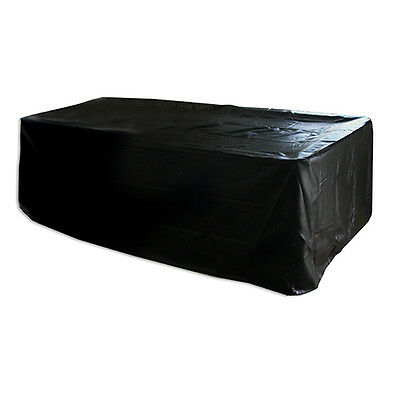 Formula 8FT Black Heavy Duty Quality Full Skirt Pool Snook Billiard Table Cover