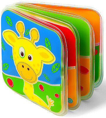 SQUEAKY BOOK BabyOn Development Baby Cognize Waterproof Book Educational Toy 891