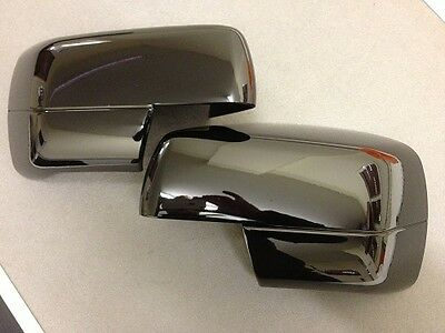 Pair Of Gloss Black Mirror Covers - Range Rover Sport L322 Discovery 3 Rrm271Jva