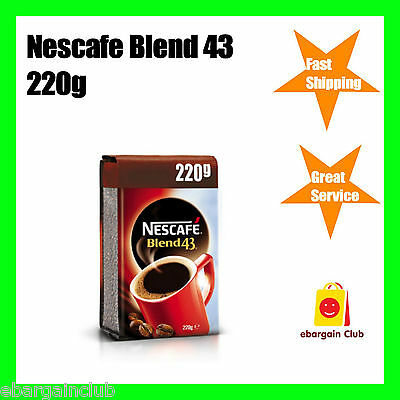 Nescafe Blend 43 Instant Coffee 220g