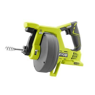 Ryobi Drain Clog Sewer Rod Cleaner Auger Pipes Snake Cordless Plumbing Tool Only