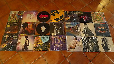Prince. Collection  Lot Of 20+ Lps And Maxis, Nice Condition Free Ship Anywhere