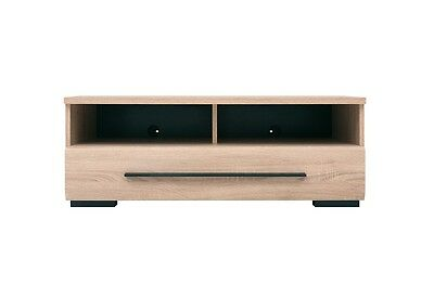 TV Cabinet TV Unit Entertainment Stand With Drawer 100 cm Sonoma Oak Fever