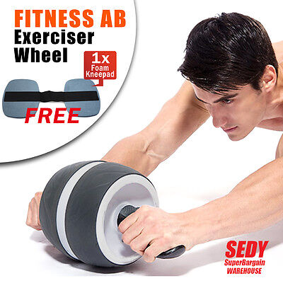 NEW Perfect Fitness Ab Carver Pro Exerciser Wheel Roller Six Pack Abs Workout