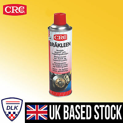 CRC Brakleen Brake Parts Cleaner Oil & Grease Remover 500 mL