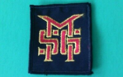 Vintage MSG Michael Schenker Group Sew On Patch! Unused UFO Scorpions