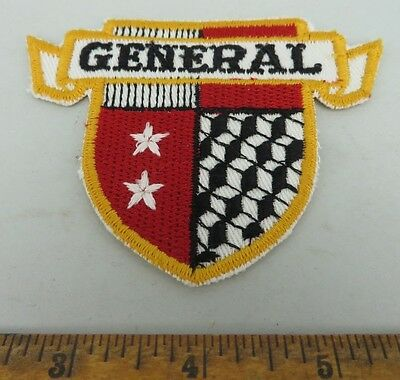 General 1950s Patch NOS New Old Stock GAS OIL TIRE SERVICE STATION