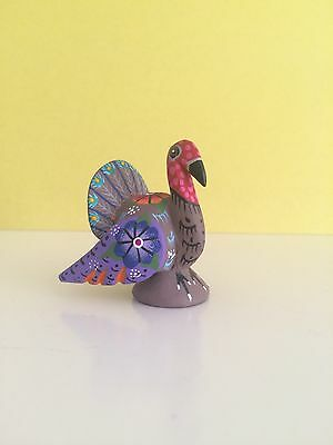 "Turkey ALEBRIJE Oaxaca wood 1.75"" Tall"