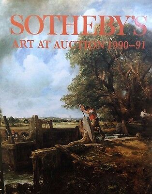 Sotheby's Art at Auction 1990-91 by Sotheby's Publications hardcover