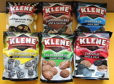 Dutch Klene DROP candy Sweet / salt/ sugar Netherlands candies licorice