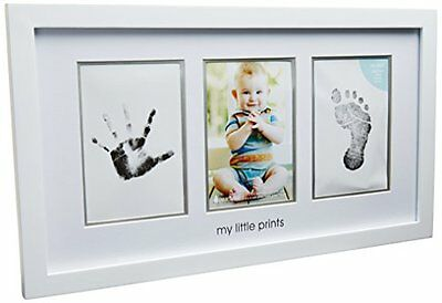 NEW Pearhead Babyprints Photo Frame White FREE SHIPPING