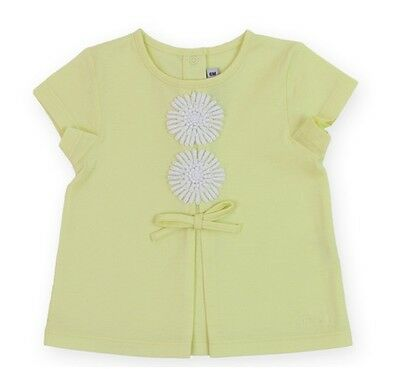 Baby Dior Mädchenbluse gelb Baby Dior girls blouse yellow NP129EUR SALE NEW