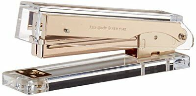 NEW kate spade new york Acrylic Stapler Gold FREE SHIPPING