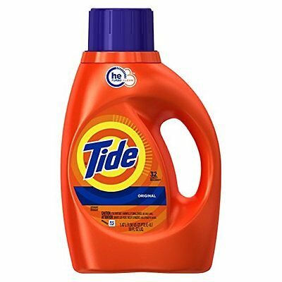 NEW Tide HE Liquid Laundry Detergent Original Scent 50 Ounce FREE SHIPPING