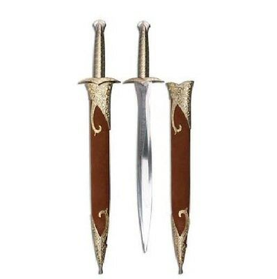 """20"""" Stainless Steel Blade Sword w/ Gold Accents & Belt Loop and Scabbard NEW"""