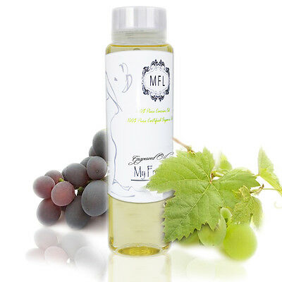 PREMIUM ORGANIC GRAPESEED CARRIER OIL COLD PRESSED PURE 2 oz GRAPE SEED XT