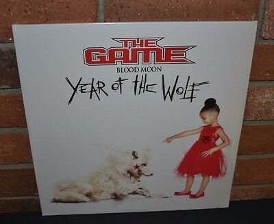 THE GAME - Blood Moon: Year of the Wolf 2LP WHITE VINYL + Download Gatefold NEW!