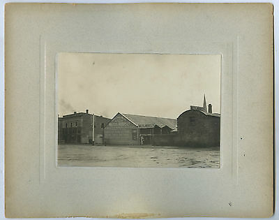 C1905 Board Photograph Sarnia Timber Mill Hindley St Adelaide Sth Aust M47.