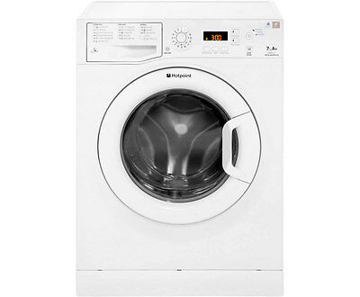 Hotpoint WMAQF721P Aquarius A+ 7Kg 1200 Spin Washing Machine White New from AO